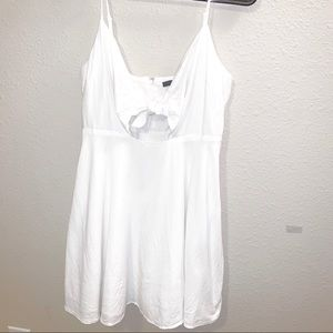 Forever 21 White Mini Sun Dress